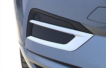 ABS クロームフロントフォグライトランプカバートリム 2 個ボルボ XC60 2018-2019
