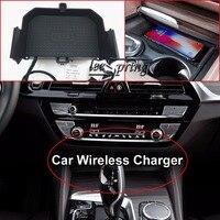 Carregador de carro Sem Fio para BMW 5/6 série WPC Qi padrão de carregamento sem fio 1.2|Isqueiros| |  -
