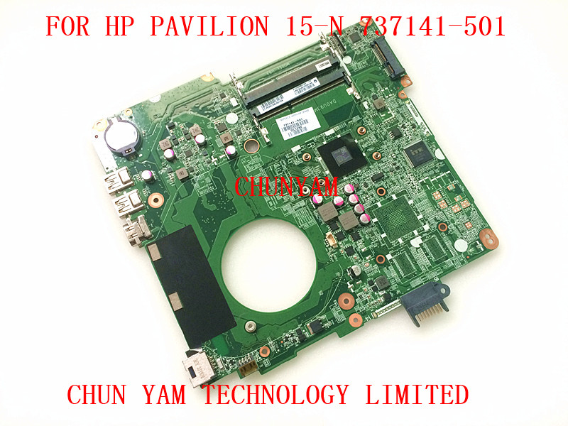 737141 501 FOR HP PAVILION TOUCHSMART 15 15 N E1 2500 SERIES laptop motherboard DA0U93MB6D0 REV