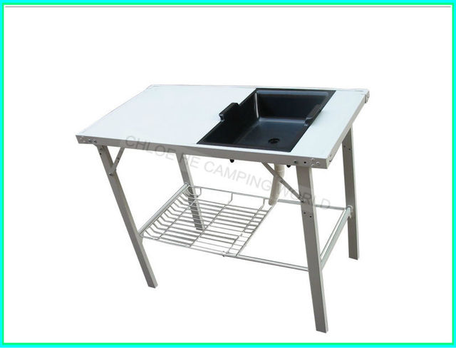 Camping Table With Sink