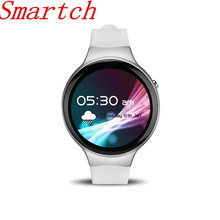 Smartch I4 Bluetooth 4.0 Samrt Watch For Android System Support Music Heart Rate Pedonmeter Speaker Smart Watch Alloy Wristwatch