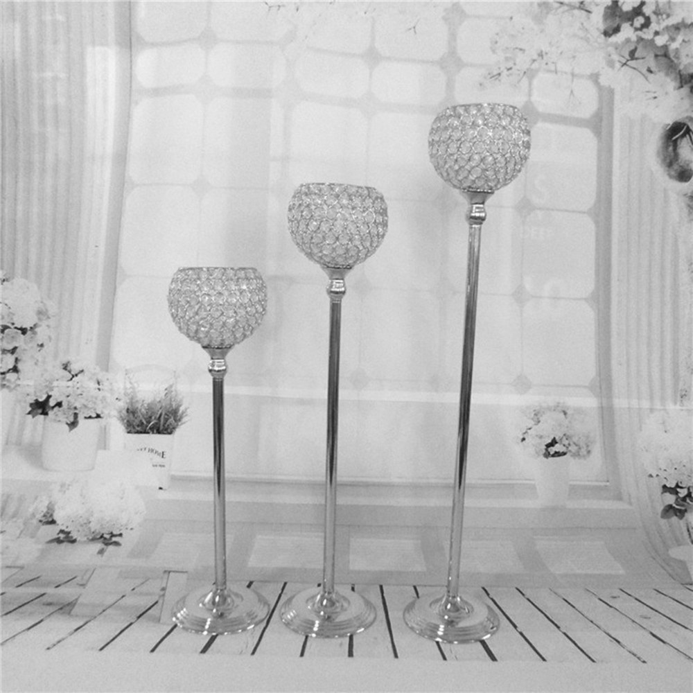 Elegant ostrich feather wedding crysta bead table centerpieces-in ...