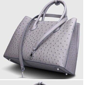 e695189c6531 Cestbeau 2019 новая импортная женская сумка из натуральной кожи страуса,  сумка на одно плечо из кожи страуса