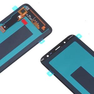 Image 5 - Orijinal AMOLED Samsung Galaxy J6 2018 ekran LCD ekran dokunmatik ekran Digitizer meclisi değiştirme J600F J600 ücretsiz araçlar
