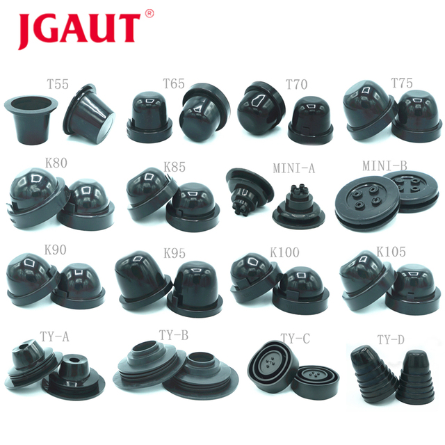 JGAUT 2PCS Car LED Headlight Dust Cover Rubber Waterproof Dustproof Sealing Cover Cap Automobiles motorcycle 70mm 75mm 80mm 85mm