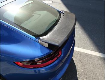 JINGHANG סיבי פחמן רכב אחורי אגף Trunk ליפ ספוילרים עבור פורשה Panamera 2009 2010 2011 2012 2013 2014 2015