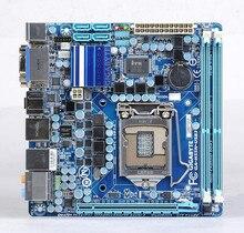 Подержанные оригинальная для gigabyte ga-h55n-usb3 h55n-usb3 для intel h55 lga 1156 ddr3 mini-itx i3 i5 i7