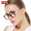 Luz de leitura armações de óculos mulheres da menina do vintage óculos óculos de armação de óculos de prescrição para femal 7001-1