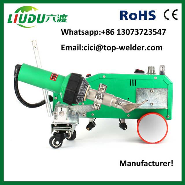 pvc canvas welding machine hot air welder lester heat gun