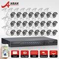 The latest 24CH 1080N HDMI DVR Set Security Camera System 24pcs AHD 720P 1800TVL Outdoor Night Vision Home Surveillance Camera