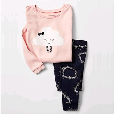 2016 new winter children cotton long-sleeved My  suit kids clothes boy girl set Children set baby set 2pcs set baby clothes set boy