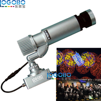 Fast Shipping Exterior 20W Led Light Image Monogram Projector with Custom Projektor Gobos Designs for Home & Garden Decorations