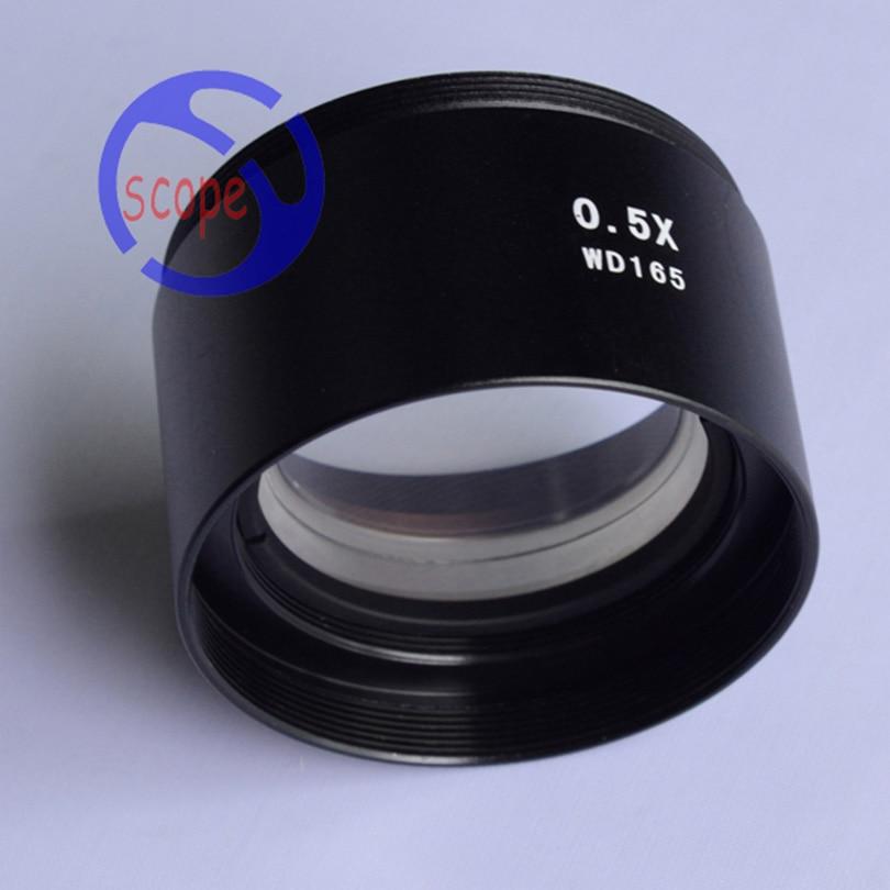 FYSCOPE mikroskopas 3.5X-90X Trinokulinio tikrinimo mikroskopas su - Matavimo prietaisai - Nuotrauka 4