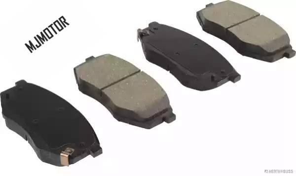 (4 pièces/ensemble) jeu de plaquettes de frein avant KIT-FR frein à disque pour Hyundai SONATA ix20 KIA SOUL Automobile partie 581013SA26 - 2