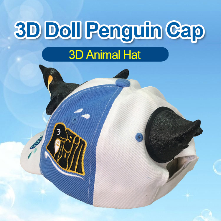 e6bac4ed 2019 New Fashion 3D Cute Penguin Hat Cartoon Baseball Caps Men And Women  Christmas Gift Dad Haps White Blue Color Visor Cap. _01 _02 _03 _04 _05 _06  _07 _08 ...
