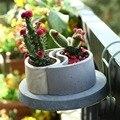 Креативная силиконовая форма для бетонного горшка  форма для садового плантатора  форма для бетонного цветочного горшка