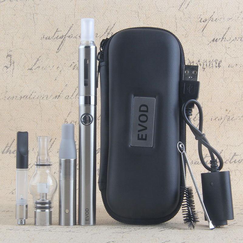 4 en 1 vaporisateur d'herbe sèche Evod Mini Vape Vape Vaporisateur d'herbe sèche Vape stylo 650mAh batterie MT3 CE3 atomiseur