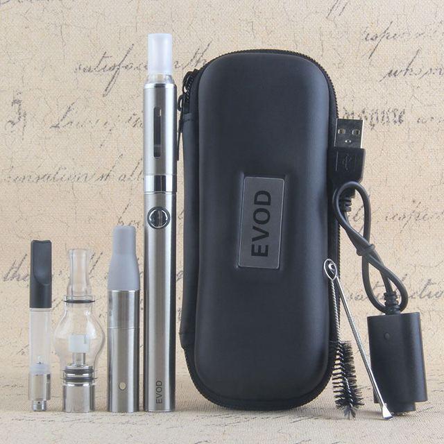 4 trong 1 Thảo Mộc Khô Vaporizer Evod Mini Vape Kit Vaporizer Thảo Dược Thảo Dược Sáp Vape Bút 650 mah Pin MT3 CE3 Atomizer