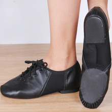 Brand Desinger Genuine leather Ballet Jazz Salsa Dance Shoes/Split Heel Sole Shoe Men Women Boys Girls