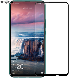 Image 1 - 2PCS Tempered Glass For Huawei Y9 Prime 2019 Glass Full Cover Glue 9H Screen Protector For Huawei Y9 Prime 2019 Phone Glass Flim