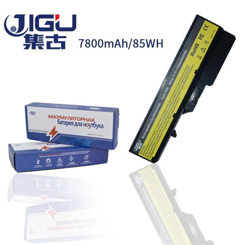 JIGU 7800mAH Laptop Battery For Lenovo IdeaPad G460 G465 G470 G475 G560 G565 G570 G575 G770 Z460 L09M6Y02 L10M6F21 L09S6Y02 laptop battery for lenovo ideapad g460 g465 g470 g475 g560 g565 g570 g575 g770 z460 v360 v370 v470 l09m6y02 l10m6f21 l09s6y02