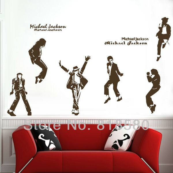 ... Free Shipping Home Decor Michael Jackson Dance Vinyl Wall Art Stickers  Wall Decals(60 X ... Part 64