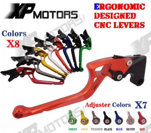 ФОТО New CNC Labor-Saving Right-angled 170mm Brake Clutch Levers For KTM 690 SMC/SMC-R/Duke/Duke R 2012 2013