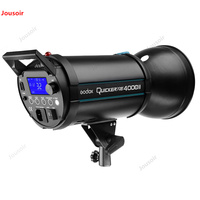 Flash 400DII segunda geração 400 W lâmpada fotografia de Flash embutido 2.4G de alta velocidade callback tiro luz de Preenchimento CD05 T07