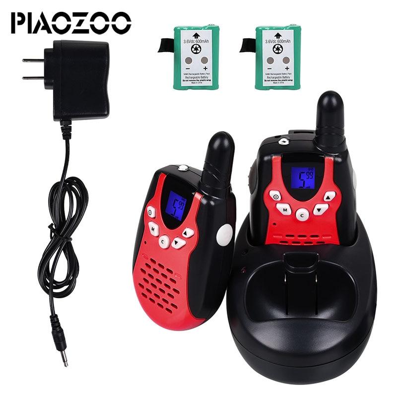 2 stücke Handheld kinder walkie talkie spielzeug zwei weg radio mini pädagogisches walky talky für kinder lautsprecher Communicator Transcever P20