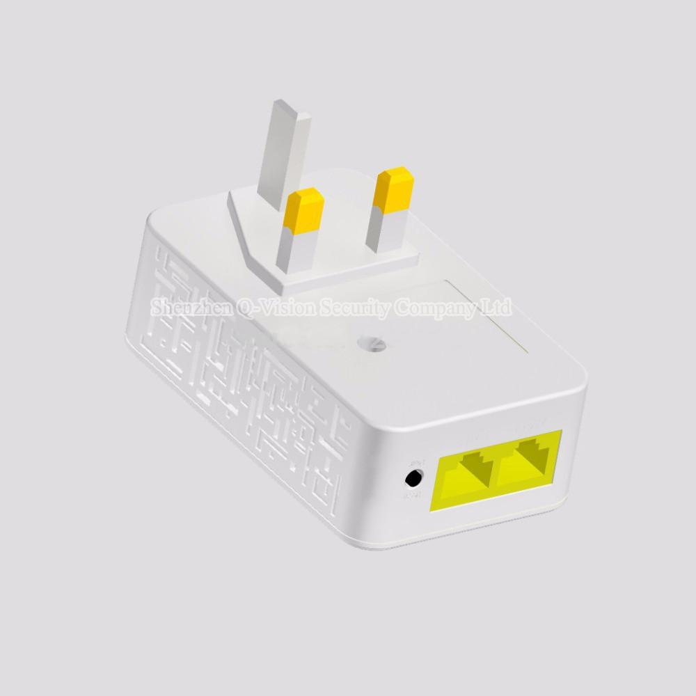 4-UKEUCN Broadlink DNA 200M Wireless WIFI Router Powerline Carrier Extend Wireless Smart Router WIFI Range Extender Automation