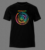 PENDULUM DRUM AND BASS ELECTRONIC ROCK MUSIC AUSTRALIA T Shirt Brand Cotton Men Clothing Male Slim