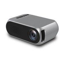 YG320 PK YG300 Светодиодный ЖК Портативный Мини проектор 3,5 мм 1080 P HD HDMI USB проектор домашний кинотеатр медиаплеер