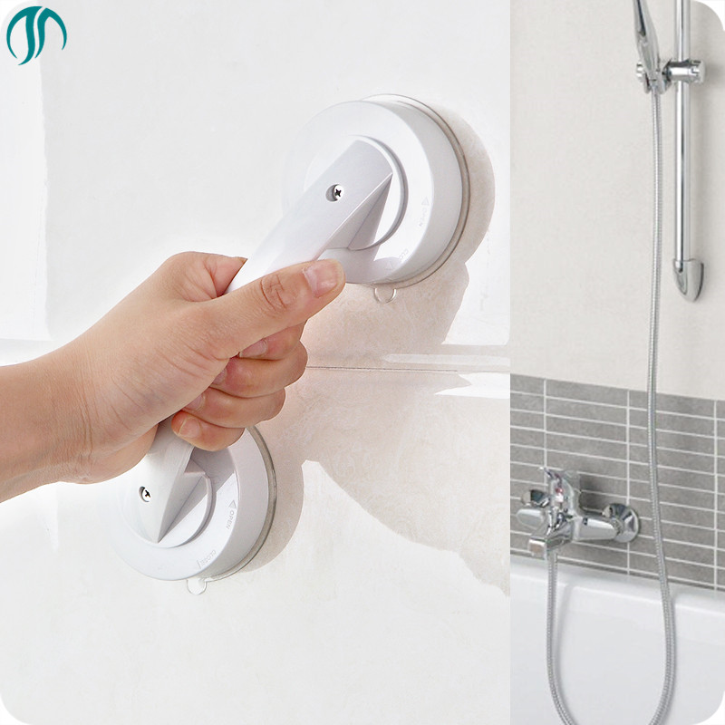 Handle Bathroom Accessories Toilet Elderly Restroom Armrest Bath Handrails  Bathtub Grab Bars Suction Bucket For Bath
