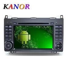 1024*600 Autoradio Android 5.1 Car Stereo GPS Navigation for Benz B200 W169 A160 Viano Vito Radio Automotivo DVD Cassette Player