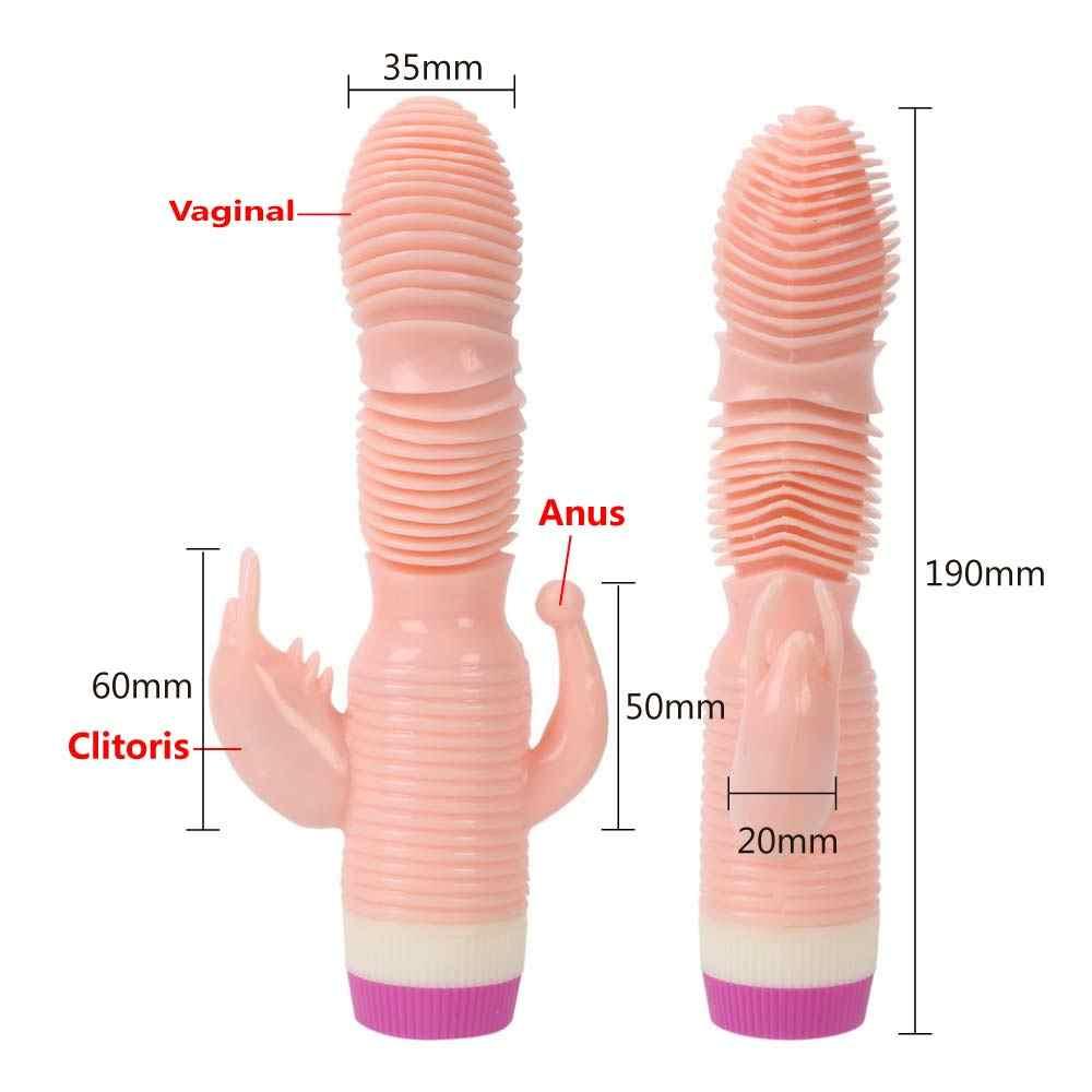 IKOKY фаллоимитатор вибратор-Стимулятор клитора G точечный секс-игрушки для женщин Женский мастурбатор Вагинальный Массажер для взрослых