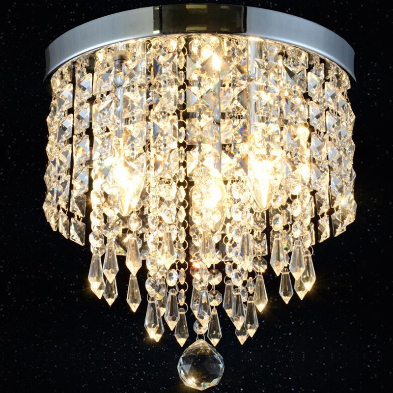 LukLoy K9 Crystal Ceiling Light for Entrance Aisle Corridor Lighting Simple Atmosphere Home Living Room Hotel Decorative LampLukLoy K9 Crystal Ceiling Light for Entrance Aisle Corridor Lighting Simple Atmosphere Home Living Room Hotel Decorative Lamp