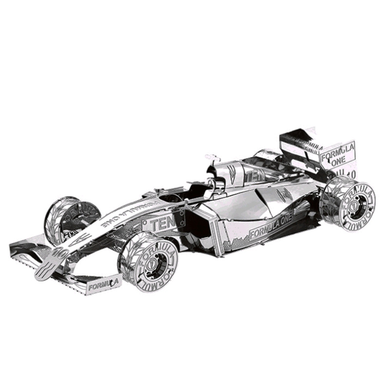 3D Metal Puzzle Children's Toy Racing Model High Quality Metal Material Educational Toys Collection Education And Children's Toy