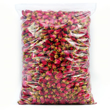 цена на Natural dried pink rose buds flower tea rose buds organic 100g/pack