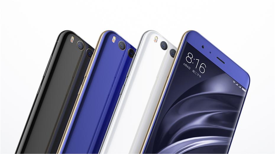 New Original Xiaomi Mi6 Mi 6 Snapdragon 835 Smartphone 6GB RAM 64GB ROM Adreno540 Fingerprint ID FDD 12MP 5.15 1080P MIUI 8 NFC (9)