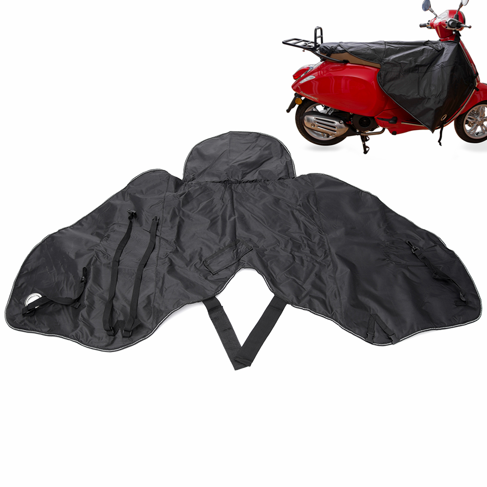 Motorcycle Warm Gloves Cover Rain Wind Cold Moisture Protector Knee Windproof Winter Quilt for All Vespa
