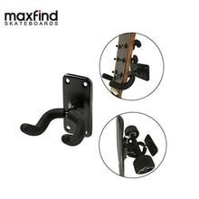 Купить с кэшбэком Maxfind Guitar Hanger Hook Holder Wall Mount Stand Rack Bracket Display Fits Guitar Bass Or Most