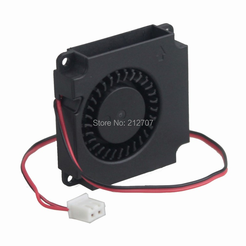 Купить с кэшбэком 5PCS Gdstime DC 12V 2Pin Brushless Blower Fan 4010 Ball Bearing Computer Cooler Small Cooling Fans