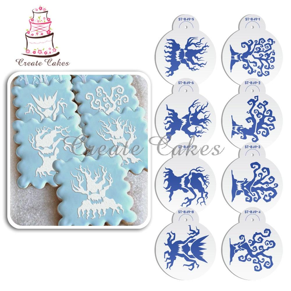 Halloween Cake Decorating Templates : Online Get Cheap Damask Cake Stencil -Aliexpress.com ...