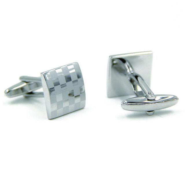 Mens Cufflinks Stainless Steel Laser Engraving Cuff Links French Shirt Wedding Groom Cuffs Cufflink Gemelos
