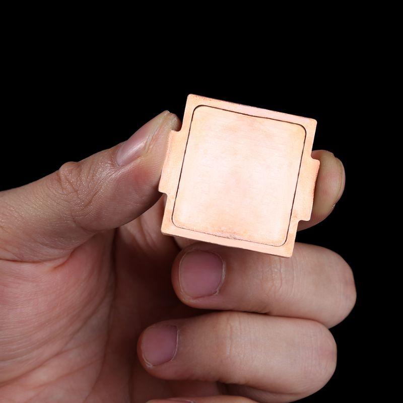 CPU Reinem Kupfer Abdeckung IHS Kühlung Für 6700 karat 7700 karat 8700 karat 115x Interface Protector