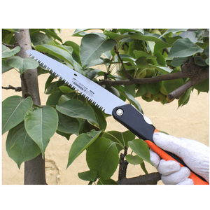 "Image 5 - 6/8/10 ""Camping Saw 7TPIเหล็กตัดไม้Survival HandในครัวเรือนGarden Pruning Saw"