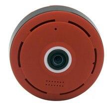 Красный 2.0 МП V380 HD 1920*1080 P VR WI-FI IP Камера Поддержка Max 64 г TF карты, P2P двухстороннее аудио IR 360 градусов IP Cam Wi-Fi P2P