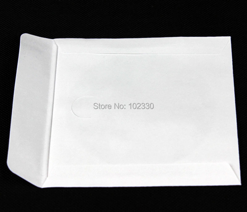 5000 stücke 12,5*12,5 cm Weiß Platz Disc CD Hülse Kraft Papier DVD Tasche Abdeckung Verpackung Umschläge Typ Pack taschen-in Geschenktüten & Verpackungs-Zubehör aus Heim und Garten bei  Gruppe 2