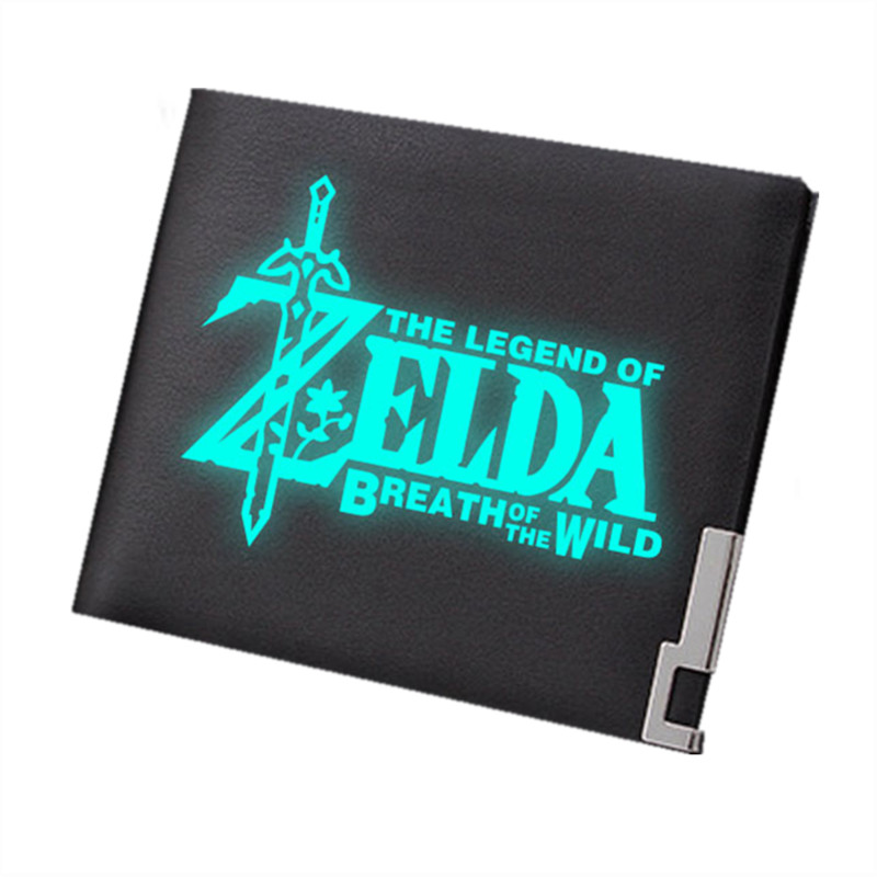 2019 Hot Game The Legend Of Zelda: Breath Of The Wild Print Men Wallets Male Short Purse Pu Leather Wallet Fashion Card Holder