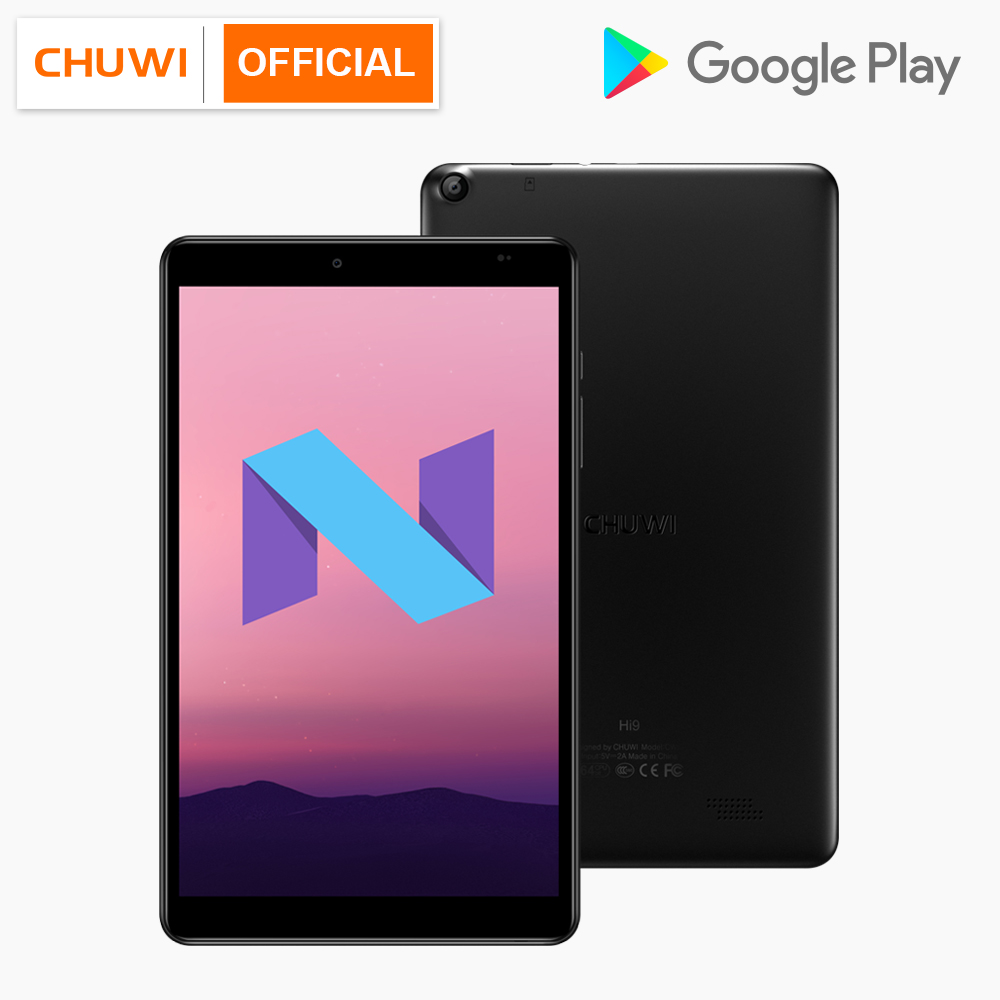 CHUWI Hi9 8.4 Inch 2560×1600 IPS Display Android 7.0 MTK 8173 Quad Core 4GB RAM 64GB ROM Dual Camera Andoroid Tablets